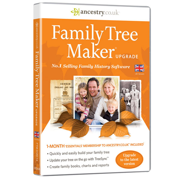 Family Tree Maker 2014 Upgrade